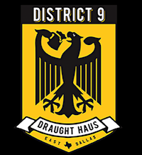 District 9 Draught Haus restaurant located in DALLAS, TX
