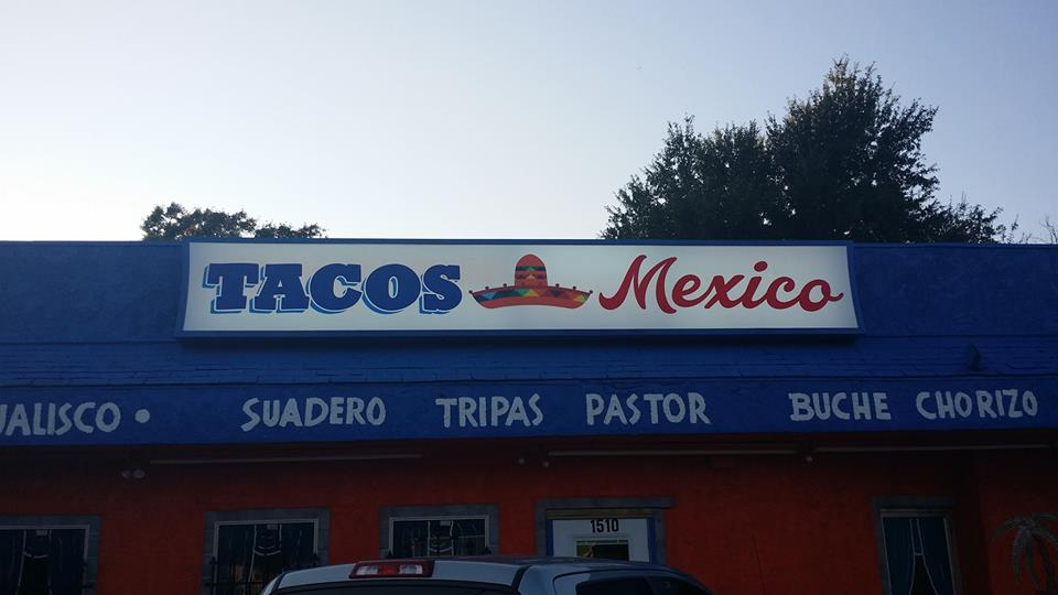 Tacos Mexico restaurant located in TYLER, TX