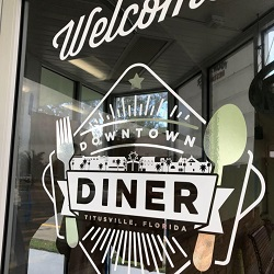 Downtown Diner restaurant located in TITUSVILLE, FL