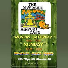 The Riverside Airport Cafe restaurant located in RIVERSIDE, CA