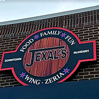 Jexals Wing-Zeria restaurant located in MCHENRY, IL