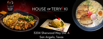 House of Teriyaki Grill restaurant located in SAN ANGELO, TX