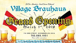 Village Brauhaus restaurant located in ALEXANDRIA, VA
