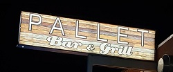 Pallet Bar And Grill restaurant located in FORT WALTON BEACH, FL