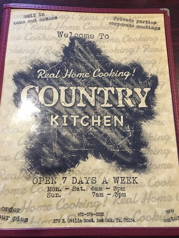 Country Kitchen restaurant located in RED OAK, TX