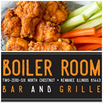 The Boiler Room restaurant located in KEWANEE, IL