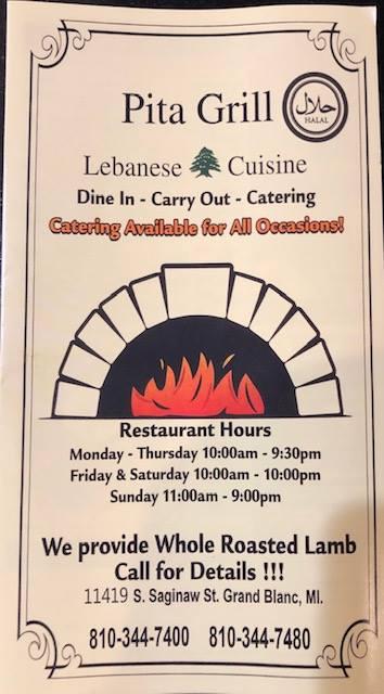 Pita Grill restaurant located in GRAND BLANC, MI