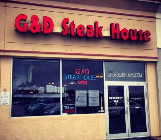G & D Steakhouse restaurant located in COLUMBIA, MO