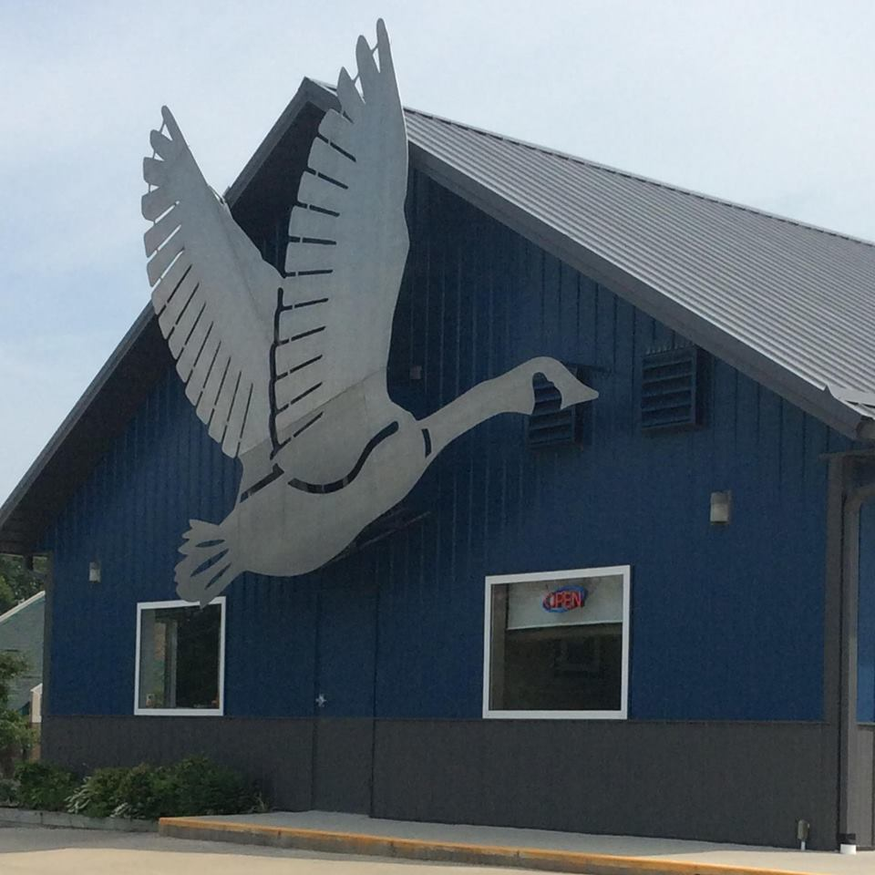 Goose Pond Pizza restaurant located in LINTON, IN