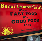 Burnt Lemon Grill restaurant located in NAMPA, ID