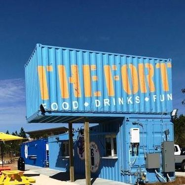 The FORT Container Park restaurant located in SPANISH FORT, AL