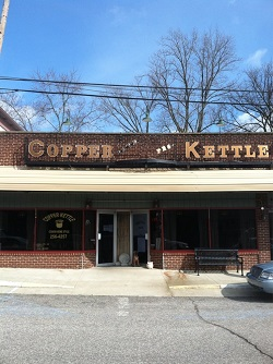 Copper Kettle restaurant located in CHARLESTOWN, IN