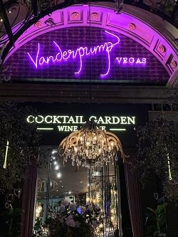 Vanderpump Cocktail Garden restaurant located in LAS VEGAS, NV