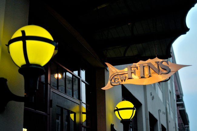 GW Fins restaurant located in NEW ORLEANS, LA