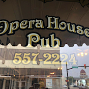 Opera House Pub restaurant located in ELWOOD, IN