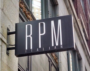 RPM Italian restaurant located in CHICAGO, IL