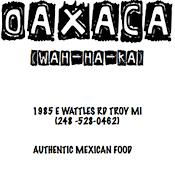 Oaxaca Mexican Food restaurant located in TROY, MI
