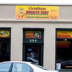 Gresham Burrito Shop restaurant located in GRESHAM , OR