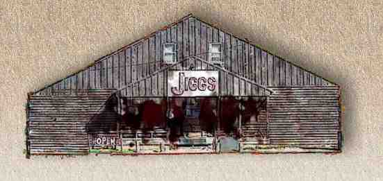 Jiggs Smokehouse restaurant located in CLINTON, OK