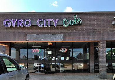 Gyro City Cafe restaurant located in OKLAHOMA CITY, OK