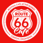 Route 66 Cafe restaurant located in CLINTON, OK