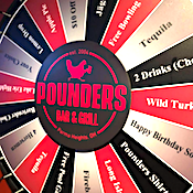 Pounders Bar & Grill restaurant located in CLEVELAND, OH