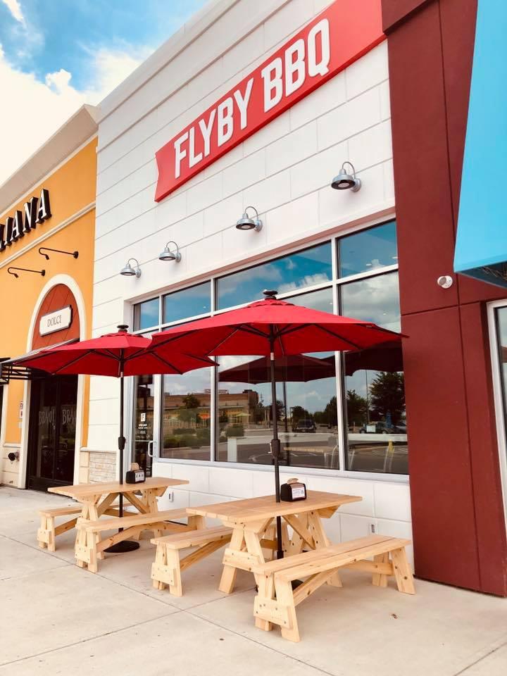 Flyby BBQ restaurant located in BEAVERCREEK, OH