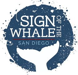 Sign of the Whale restaurant located in SAN DIEGO, CA