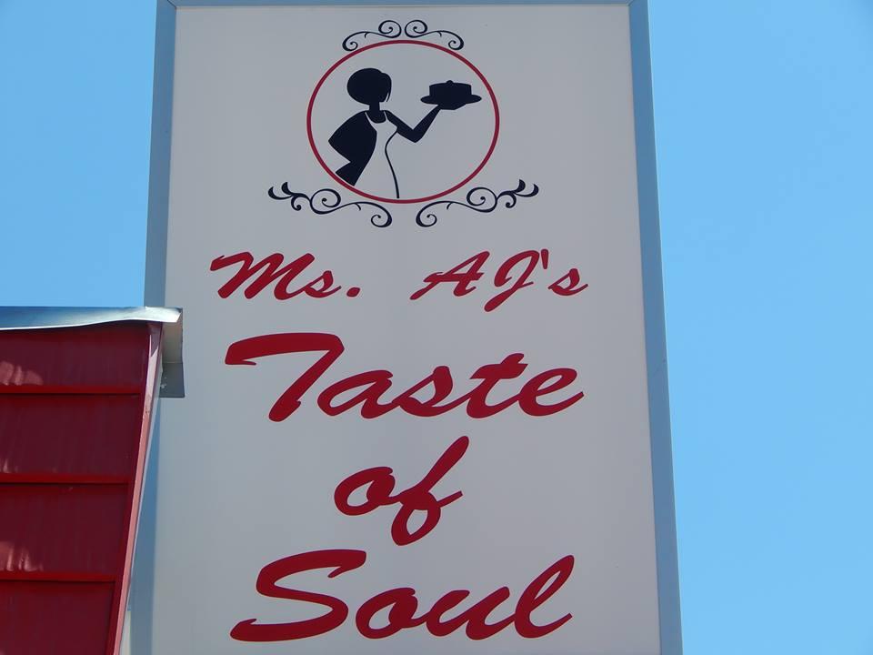 Ms. AJs Taste of Soul restaurant located in LAS CRUCES, NM