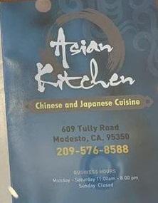 Asian Kitchen restaurant located in MODESTO, CA
