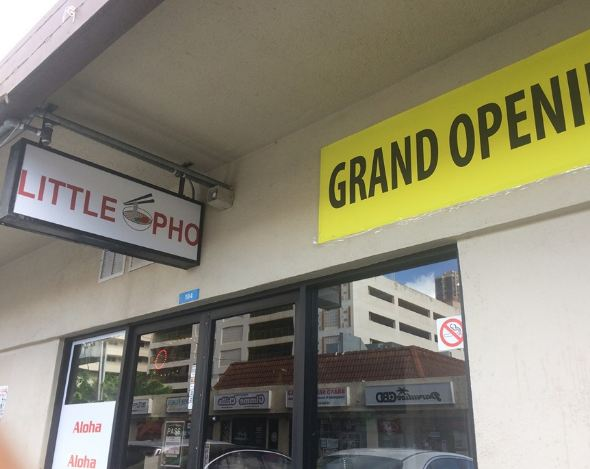 Little Pho restaurant located in HONOLULU, HI
