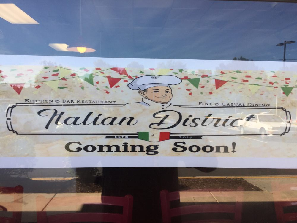 Italian District restaurant located in HERNDON, VA