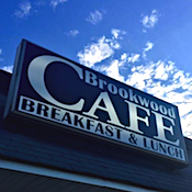 The Brookwood Cafe restaurant located in HAMILTON TOWNSHIP , NJ
