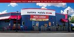 Hakuna Matata Grill restaurant located in SILVER SPRING, MD