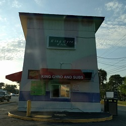 Kings Gyro and Subs restaurant located in NORTH CHARLESTON, SC