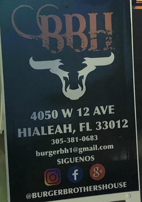 Burger Brothers House restaurant located in HIALEAH, FL