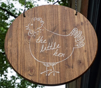 The Little Hen restaurant located in HADDONFIELD, NJ
