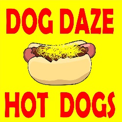 Dog Daze Gourmet Hot Dogs restaurant located in CANTON, OH