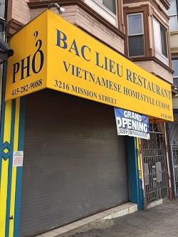 Bac Lieu Restaurant restaurant located in SAN FRANCISCO, CA