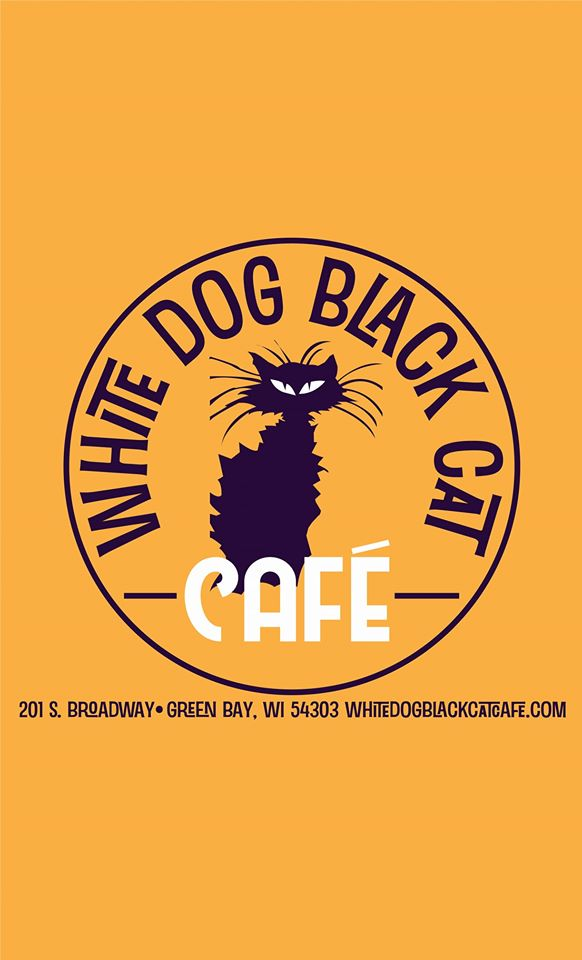 White Dog Black Cat Cafe restaurant located in GREEN BAY, WI