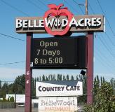 Bellewood Farm & Distillery restaurant located in LYNDEN, WA
