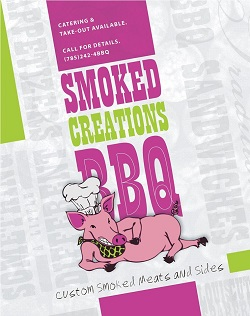 Smoked Creations BBQ restaurant located in OTTAWA, KS