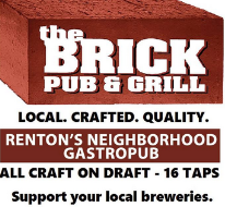 The Brick Pub & Grill restaurant located in RENTON, WA