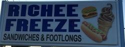 Richee Freeze restaurant located in ROANOKE, VA