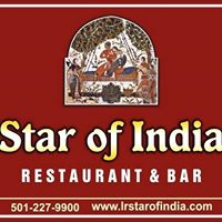 Star of India restaurant located in LITTLE ROCK, AR