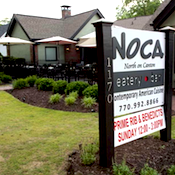 NOCA Eatery & Bar restaurant located in ROSWELL, GA