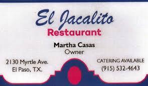 El Jacalito Restaurant restaurant located in EL PASO, TX