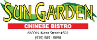 Sun Garden Chinese Bistro restaurant located in EL PASO, TX