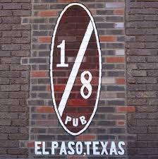 1/8 Pizza Pub restaurant located in EL PASO, TX