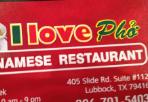 I Love Pho restaurant located in LUBBOCK, TX